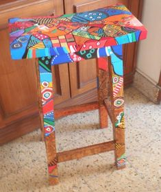 Image result for hand painted chairs art