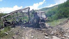 """Grupa pracowników telewizji Azerbejdżanu i Państwowej Agencji Informacyjnej Azerbejdżanu """"AzerTag"""" od jakiegoś czasu filmuje na terenach wyzwolonych w ramach porozumienia pomiędzy Azerbejdżanem a Armenią. Autobus (pojazd marki KamAZ) z tą grupą został wysadzony przez minę przeciwczołgową w drodze do wioski Susuzlug w regionie Kalbajar. W rezultacie zginęli operator telewizji Azerbejdżan Siraj Abishov urodzony w 1989 […] Źródło Samara, Eminem, Vehicles, Fotografia, Car, Vehicle, Tools"""