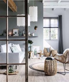 Best Home Color Ideas Living Room Layout 60 Ideas Living Room Grey, Home And Living, Living Room Decor, Modern Living, Living Room Designs, Living Spaces, Gravity Home, Interior Minimalista, Scandinavian Living