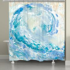 Shower Curtains: Give your bathroom a new look with a shower curtain from Overstock.com. Free Shipping on orders over $45!