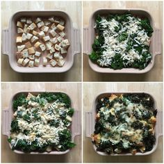 Kale, Cheddar and Sourdough Strata - can be made the night before and lasts and tastes great leftover!