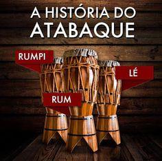 Minha vida e a capoeira!: história do atabaque!!!