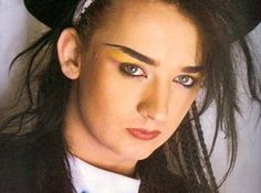 Love Boy George in Culture Club .not so much Boy George in 2012 Boy George, Culture Club, Pop Culture, 80s Musik, 80s Pop, Nostalgia, Teenage Years, Kinds Of Music, New Wave