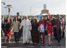 """Pope Francis has written a letter to young people as the Church prepares for aSynod of Bishopson the theme:""""Young People, the Faith and Vocational Discernment""""."""