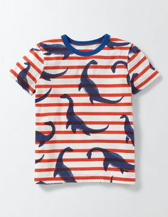 Featuring colourful yarn-dyed stripes (in 100% cotton), our short-sleeved printed T-shirt is ideal for weekend beachcombing. Now, time to seek out that treasure...