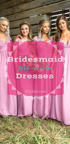 check out our adorable bridesmaid dresses!