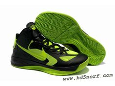 Nike Zoom Hyperfuse 2012 Jeremy Lin Shoes Black Green