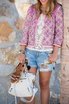 Beautiful Embellished Jacket, Gal meets Glam