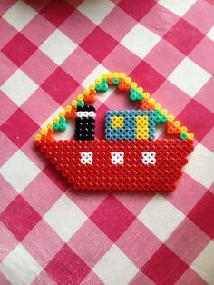 Stoomboot Sinterklaas strijkkralen