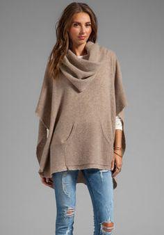 360 Sweater Laurel Cashmere Poncho