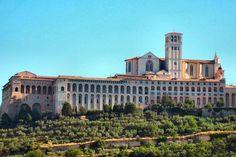 Sacro Convento - Assisi, Perugia Umbria Italy