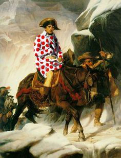 Bonaparte Crossing the Alpes