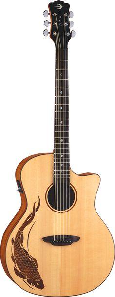 Luna Guitars - Oracle Koi