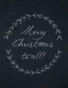 Merry Christmas, Everyone! :)