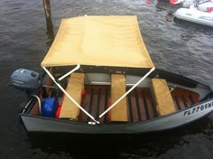 This is a 10' Bote with bimini and flooring.  Not close to my design, but gives one an idea final result.