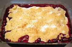 This cobbler has a top and bottom crust enveloping a buttery, blackberry filling.