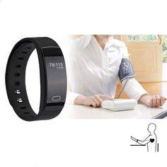 U3 Smart Sports Armbånd Wristband Pulsmåler Oxygen Fitness Track Tracking Smart Watch Vandtæt Armbåndsur