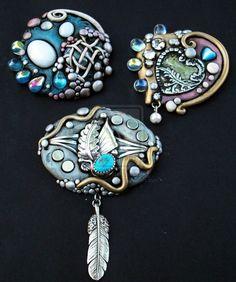Polymer clay Jewelry 1 by *MandarinMoon on deviantART