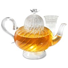Rose Teapot With Glass Infuser design inspiration on Fab.