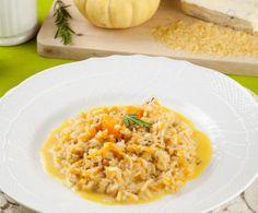 Risotto alla zucca gialla e gorgonzola