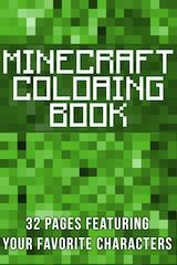 Minecraft Coloring Book.