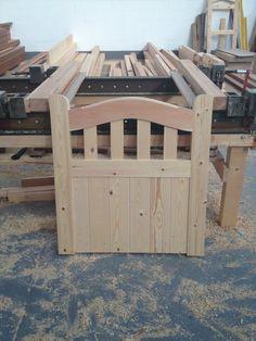 Wooden gates Driveway gates Slatted Sutton Side Entrance Gate Single | eBay