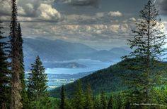 Schweitzer Overlook near Sandpoint Idaho by PhotographyBySherman, $20.00