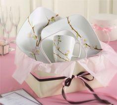 #Corelle Cherry Blossom Square 16pc #DinnerSet