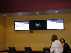 Data Display's range of Box Office signs provide movie-goers with continuously up-dated information on movie titles and show times.