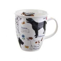 Dog Breeds Nevis shape Mug | TemptationGifts.com