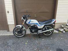 1982 CB 450t  60 miles on the clock My bike