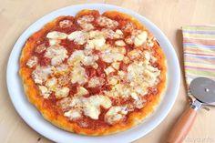 La pizza con il lievito madre mi ha dato un pò di noie, dopo aver preparato per la prima volta il