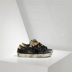 Soldes Golden Goose Deluxe Brand Superstar Leather Couples Chaussure Noir  Or. Versace SneakersZanotti ... 4ac47d73b4e0