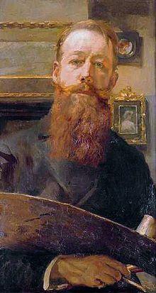 Huibert Marie (1881-1942) - Zelfportret