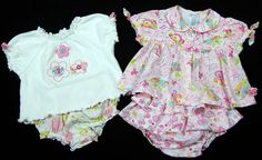 Dress Lot of 2 Outfits Baby Girl Size 3-6 Months Pink #Place #DressyEverydaySummer
