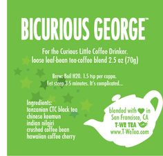 Black Tea - For The Curious Little Coffee Drinker  BiCurious George is a little confused. He doesn't know if he should like coffee or tea. One day he likes one, the next day he likes another. Everyone tells him he has to make a choice, but he wants both. If you're on the edge of choosing betwee...