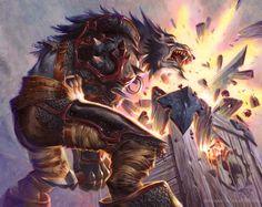 #wowtcg #warcraft #worgen #warrior #guerrier