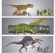 Jurassic attacks!!!