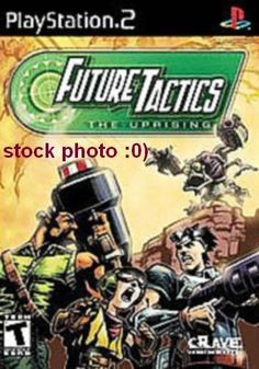 Future Tactics: The Uprising PS2 Game disc only (Sony PlayStation 2, 2004) ntsc
