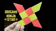 Easy Paper Ninja Star (Shuriken) – Origami Ninja Star – DIY paper crafts – How to make Origami Owl Easy, Kids Origami, Origami Ball, Useful Origami, Origami Stars, Origami Paper, Diy Paper, Paper Crafts, Diy Crafts