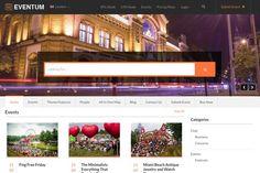 Eventum WordPress Event Directory Theme