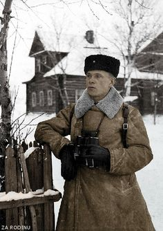 Russian soldier - Leningrad - Great Patriotic War