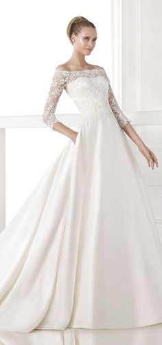 Atelier Pronovias Wedding Dress 2015 - Belle The Magazine