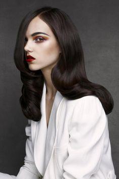 Patrick Demarchelier - Jessica Miller - stylist Xanthipi Joannides - hair Nadine Bauer - makeup Tyron Machhausen