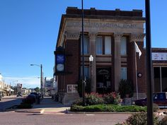 Pauls Valley Historic District in Garvin County, Oklahoma.