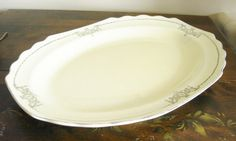Hey, I found this really awesome Etsy listing at https://www.etsy.com/listing/160776571/large-serving-platter-sale-vintage