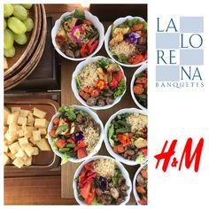 La Lorena Banquetes+Lunch H&M+Roof Top... #lalorenabanquetes #LaLorena #lunch #sunnyday #quinoasalad @hm @mazadavid