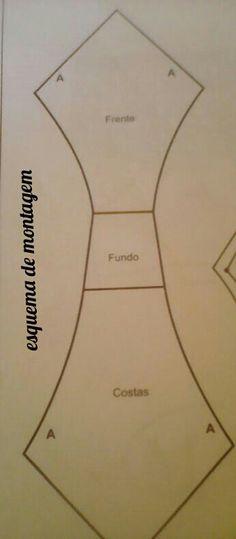 Neidinha Gomes Costuras em geral ( Moldes): Calcinha com renda G