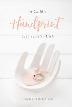Easy Mothers Day Gifts - Child's Handprint Clay Jewelry Dish - Cute Crafts and. Easy Mothers Day Gifts - Child's Handprint Clay Jewelry Dish - Cute Crafts and Homemade Presents for Mom Kids Crafts, Diy Mother's Day Crafts, Mothers Day Crafts For Kids, Mother's Day Diy, Spring Crafts, Yarn Crafts, Diy Gifts For Mom, Diy Mothers Day Gifts, Grandma Gifts