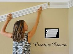 Foam crown moldings, Styrofoam crown molding, Flexible crown molding, Polystyrene crown moldings